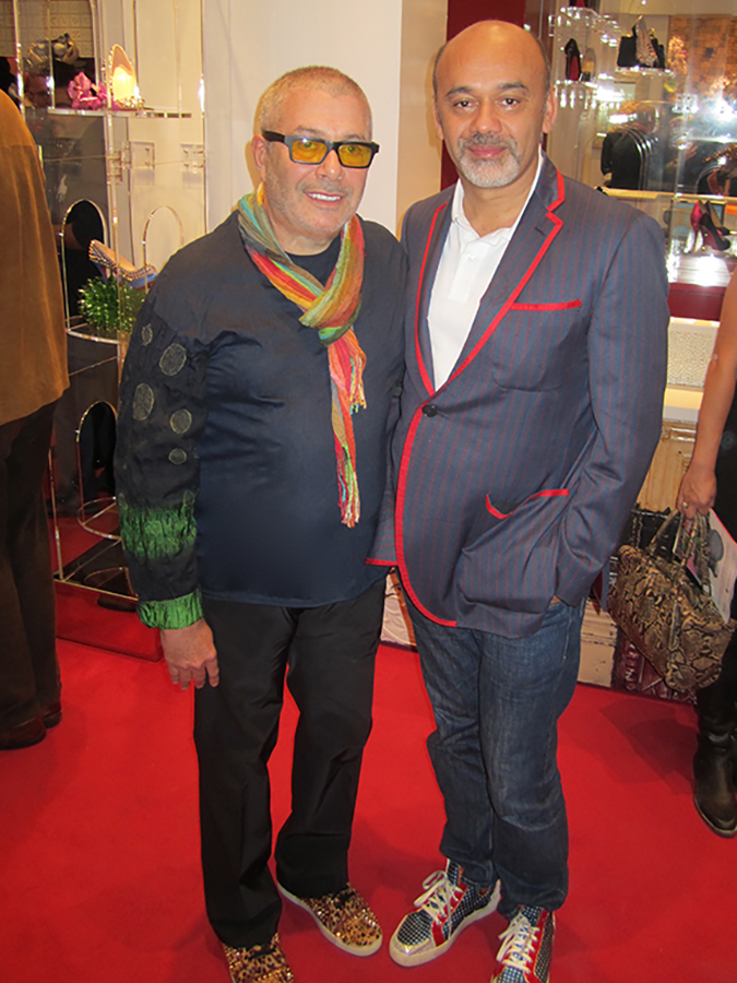 Leland with Christian Louboutin